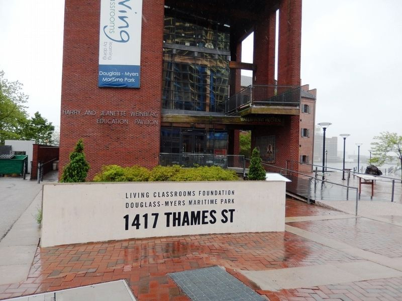 Frederick Douglass-Isaac Myers Maritime Park and Museum Park Sign image. Click for full size.