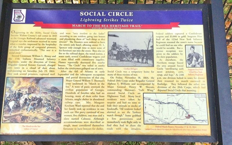 Social Circle Marker image. Click for full size.
