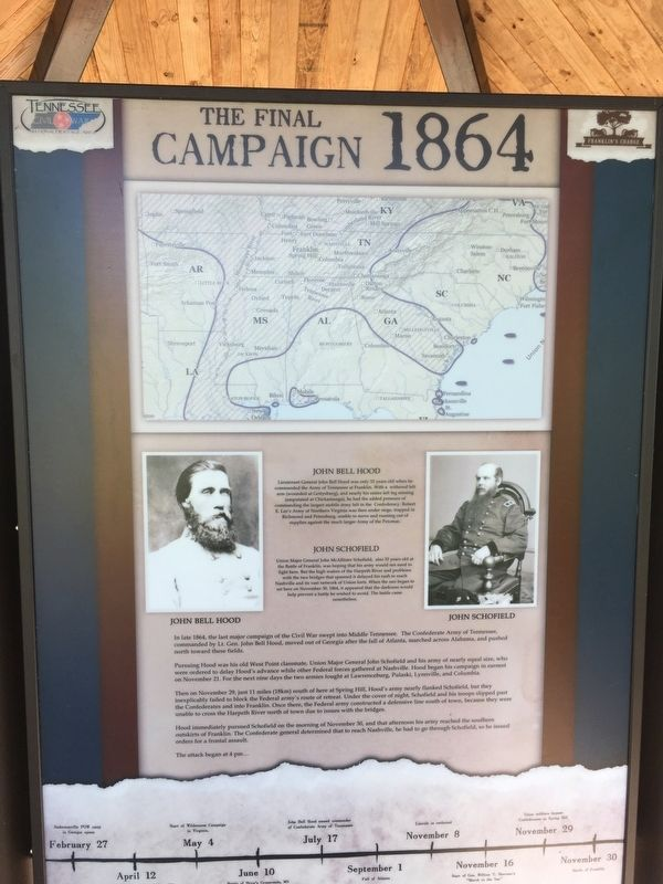 The Final Campaign 1864 Marker image. Click for full size.
