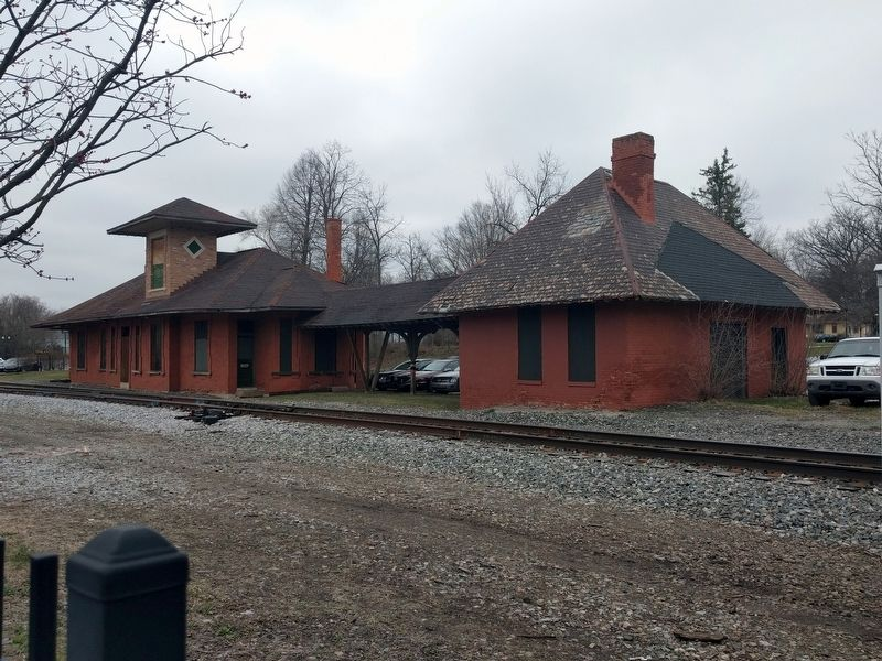 Michigan Central Railroad Depot image. Click for full size.