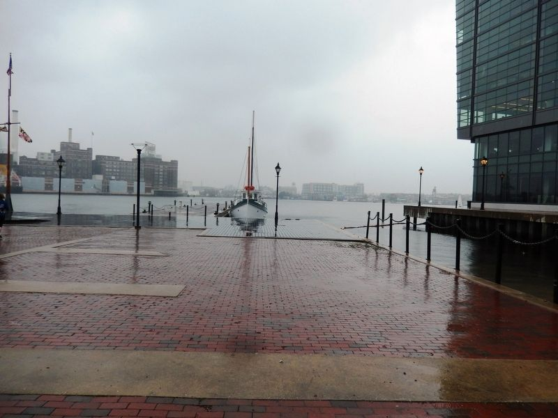 Foot of Chase's Wharf in the Baltimore Harbor image. Click for full size.