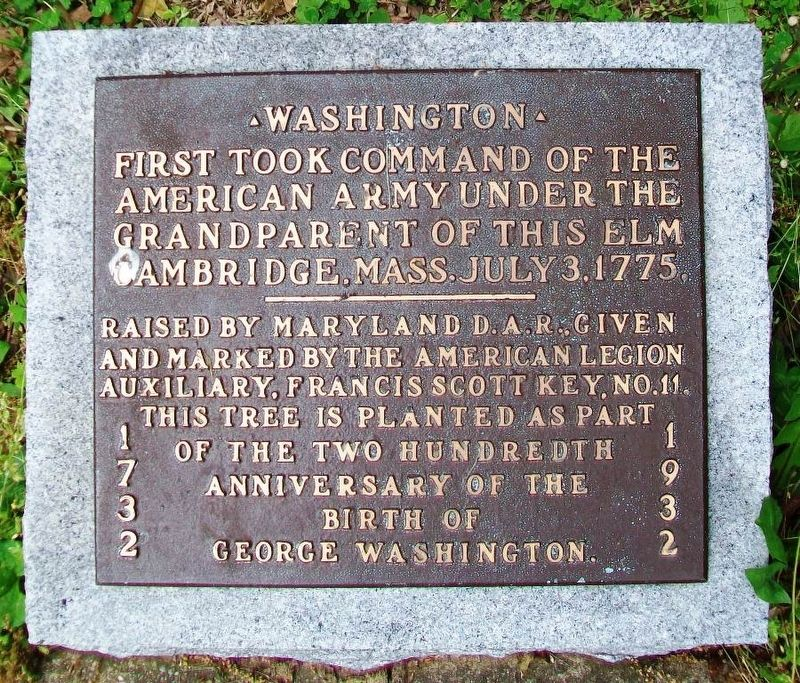 George Washington Bicentennial Memorial Marker image. Click for full size.