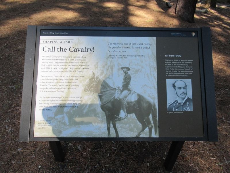 Call the Cavalry! Marker image. Click for full size.