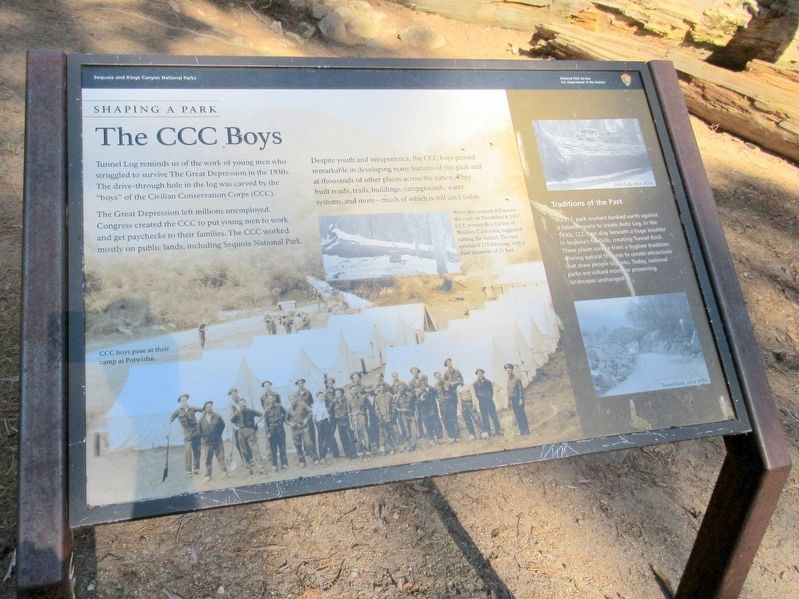 The CCC Boys Marker image. Click for full size.