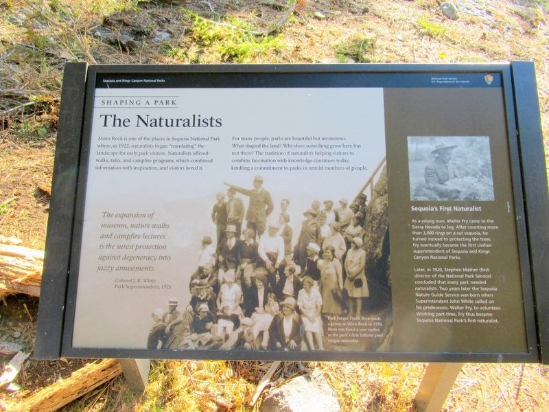 The Naturalists Marker image. Click for full size.