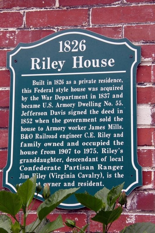 Riley House Marker image. Click for full size.