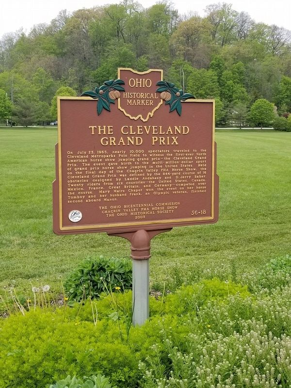 The Cleveland Grand Prix Marker image. Click for full size.