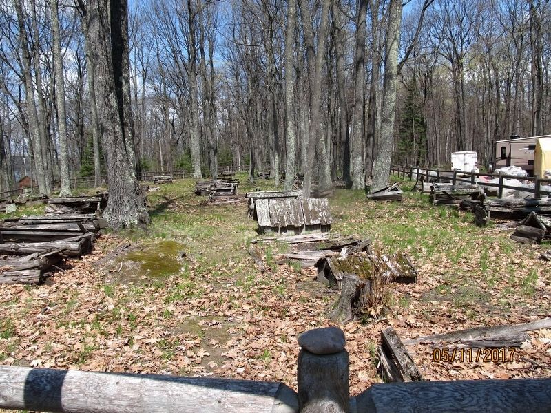 Indian Village Burial Grounds image. Click for full size.