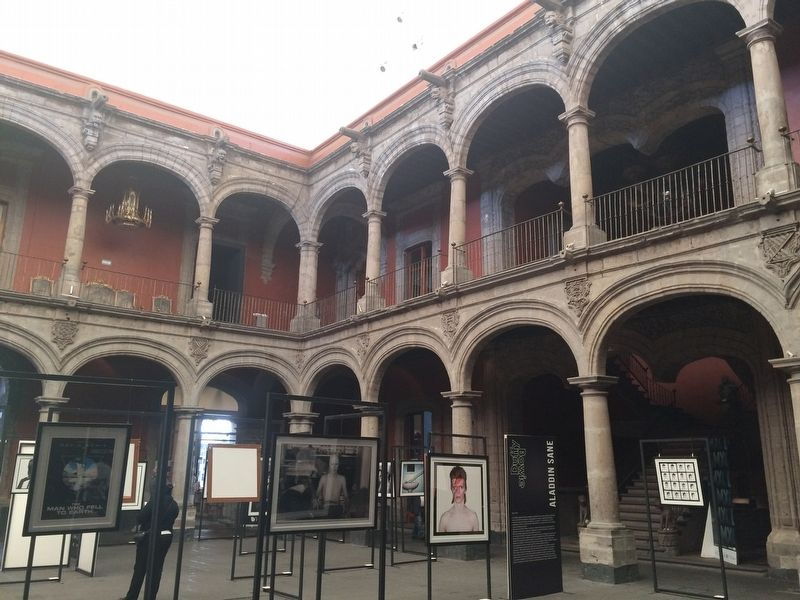 Interior Courtyard of The House of Juan Altamirano image. Click for full size.