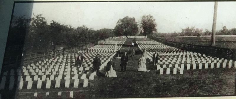 McGavock Confederate Cemetery, Carnton image. Click for full size.