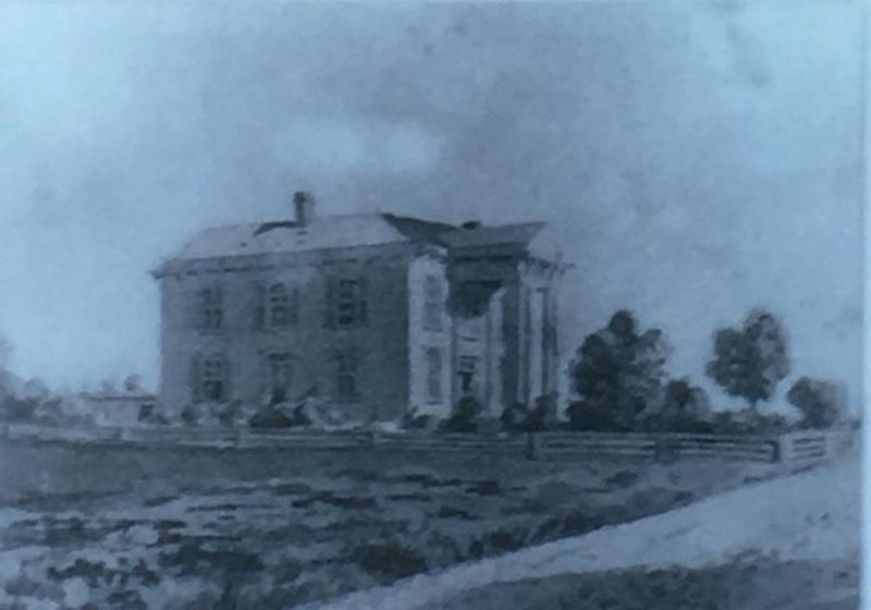Lotz House Circa 1866 image. Click for full size.