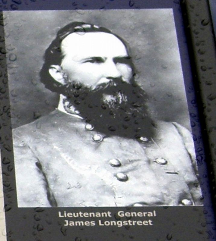 Corps Commander James Longstreet image. Click for full size.