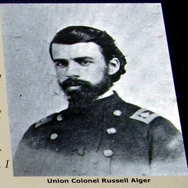 Commanding Officer, 5th Michigan Cavalry image. Click for full size.
