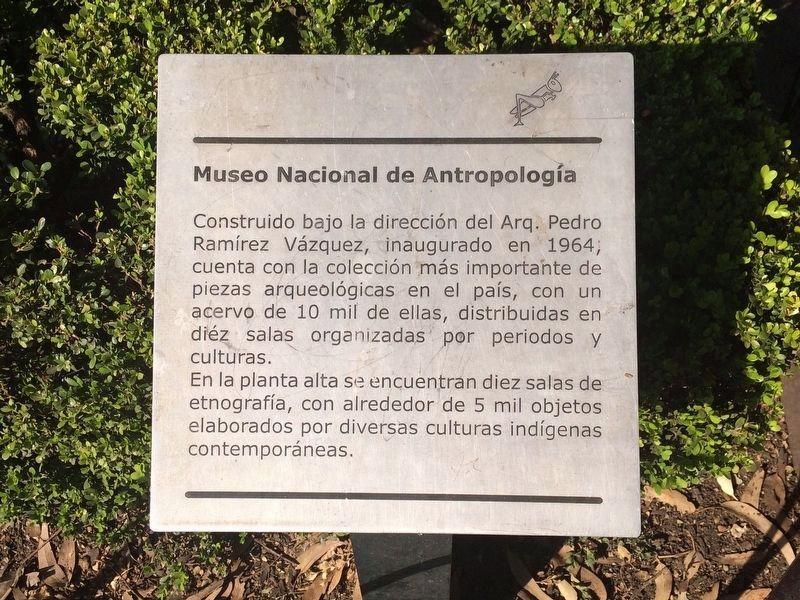 A nearby additional National Anthropology Museum of Mexico Marker image. Click for full size.