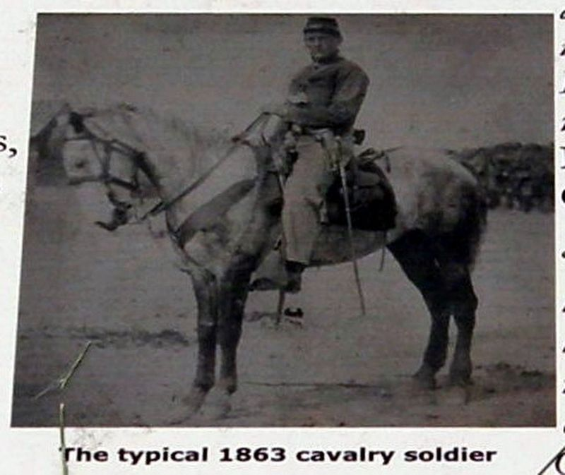 Insert - A typical cavalryman image. Click for full size.