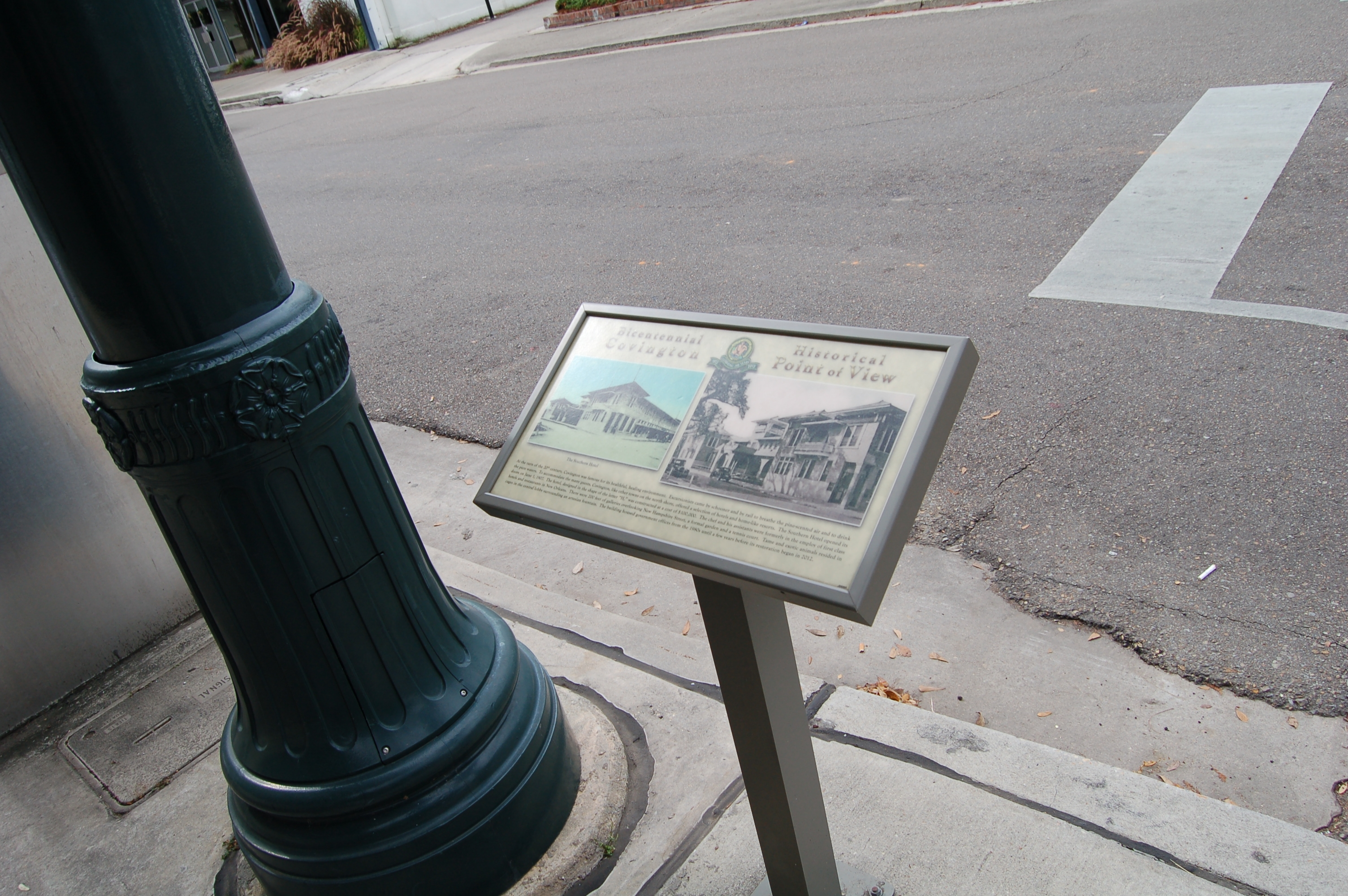 The Southern Hotel Marker