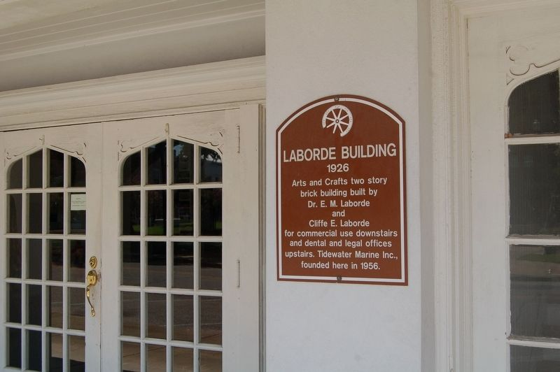 Laborde Building Marker image. Click for full size.