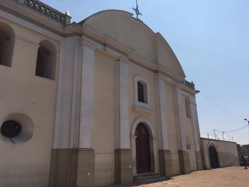 The Catholic Church of Saint Augustine of Sumpango. image. Click for full size.