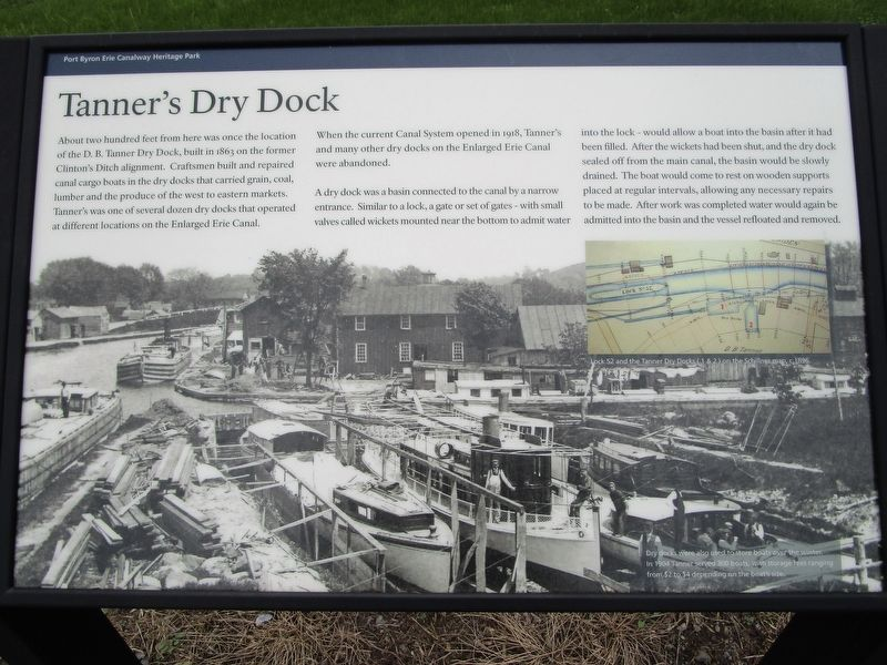 Tanner's Dry Dock Marker image. Click for full size.