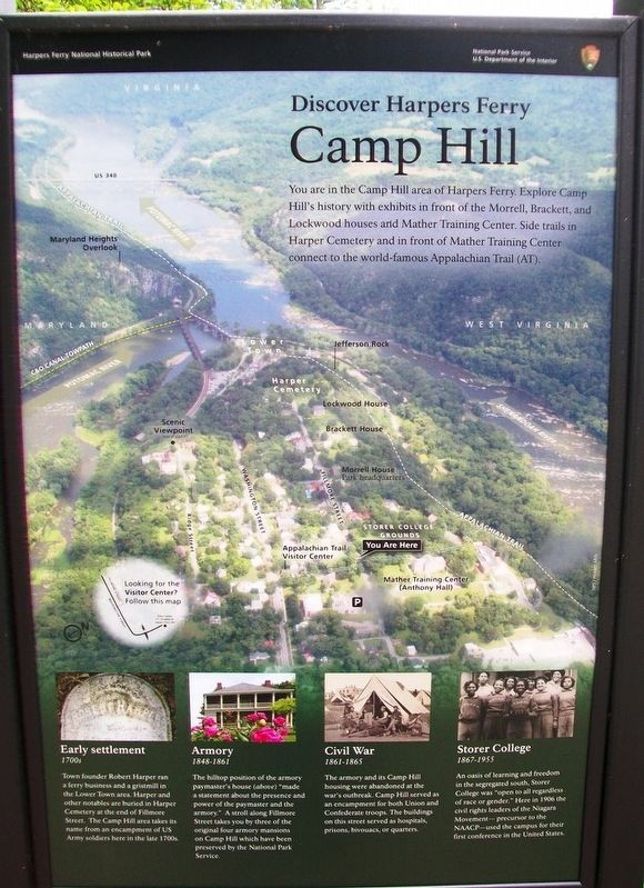 Camp Hill Marker image. Click for full size.
