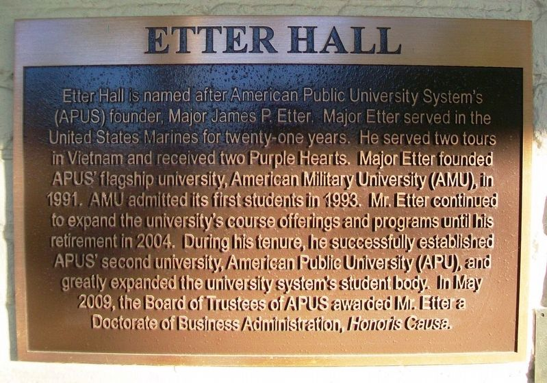 Etter Hall Marker image. Click for full size.