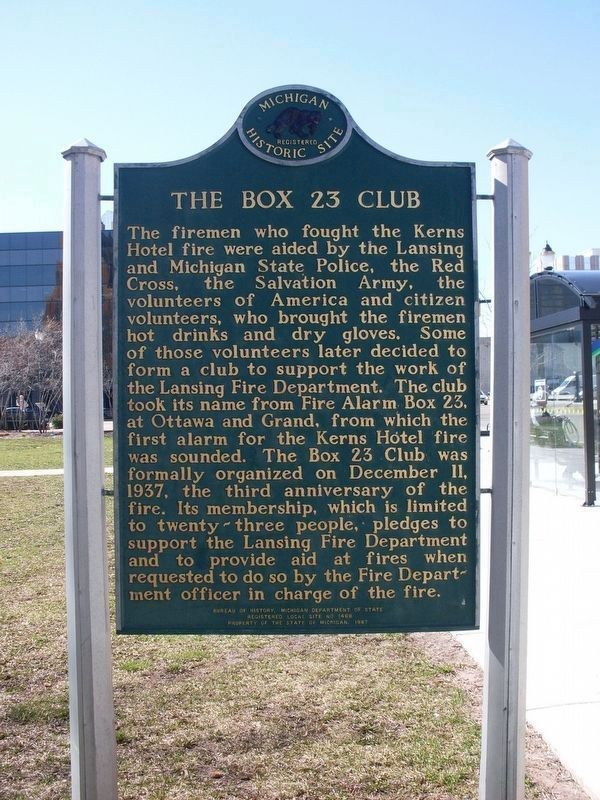 Box 23 Club Marker image. Click for full size.