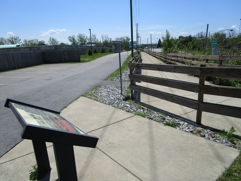 Cheektowaga Trail & Marker image. Click for full size.