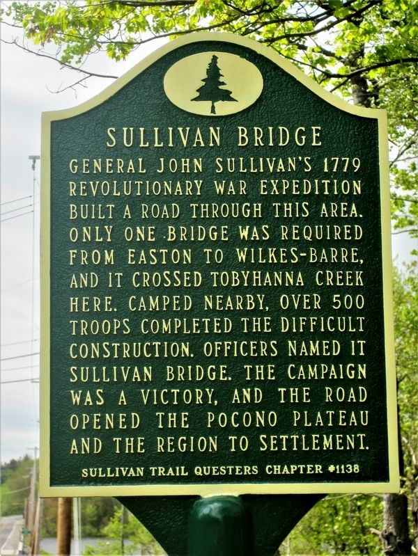 Sullivan Bridge Marker image. Click for full size.