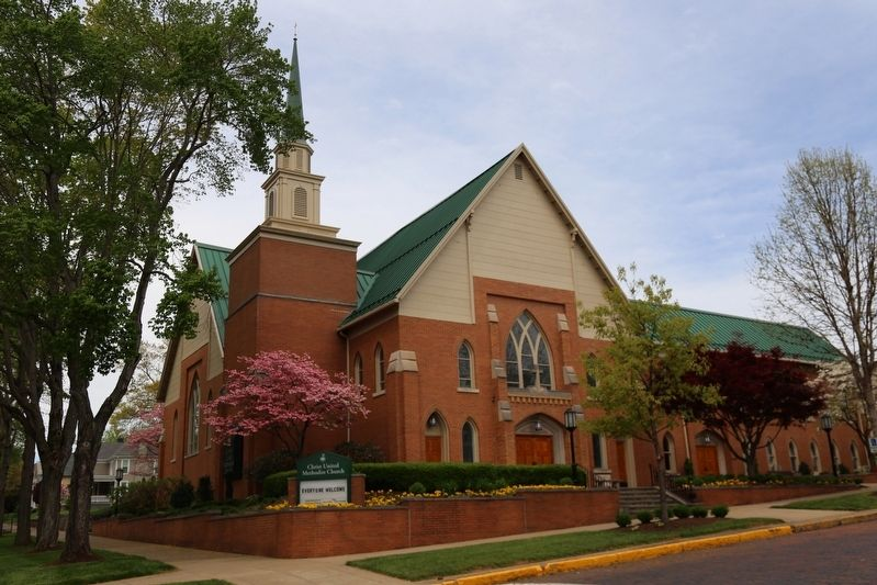 Christ United Methodist Church image. Click for full size.