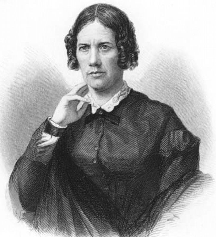 Frances Dana Gage (1808–1884), writer, activist, feminist, abolitionist and poet image. Click for full size.