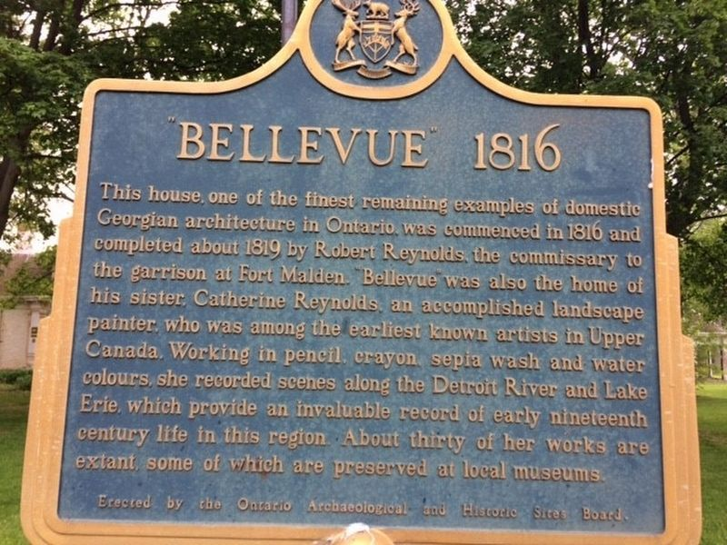 Bellevue 1816 Marker image. Click for full size.