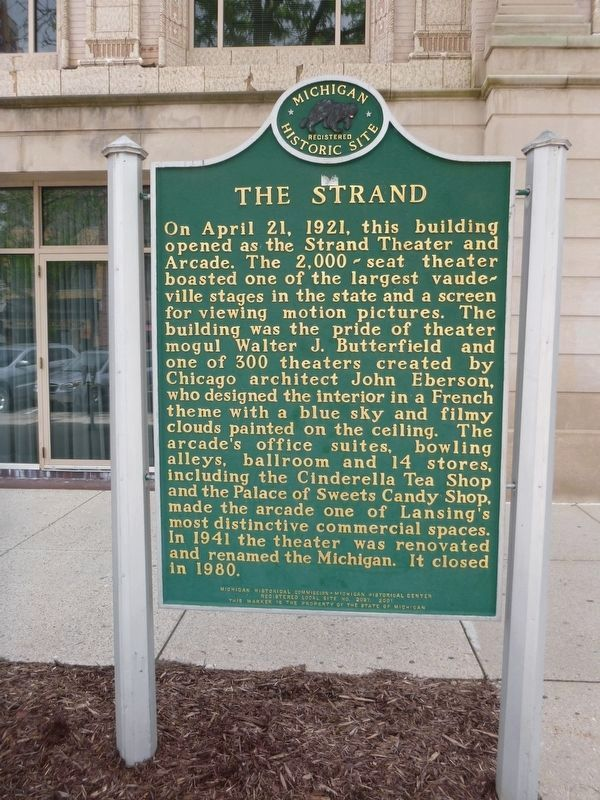 The Strand Marker image. Click for full size.