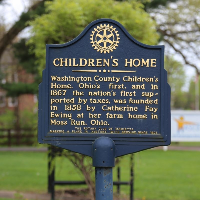 Children's Home Marker image. Click for full size.