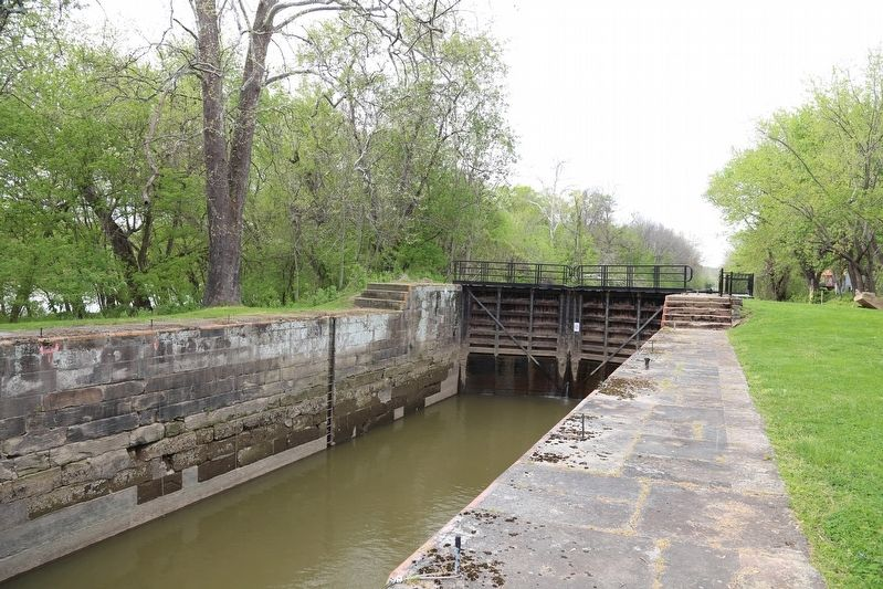 Muskingum River System, Lock No. 4 image. Click for full size.