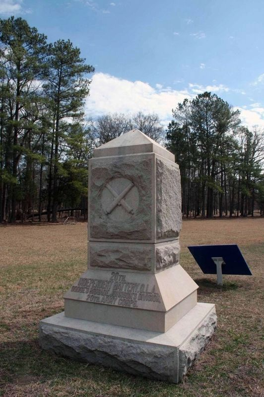 20th Battery, Ohio Light Artillery Monument image. Click for full size.