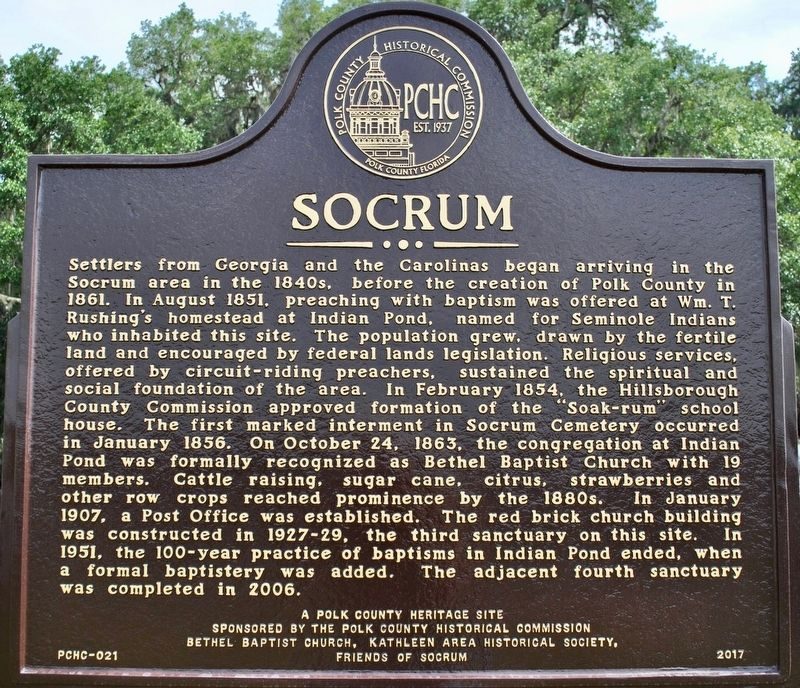Socrum Marker image. Click for full size.