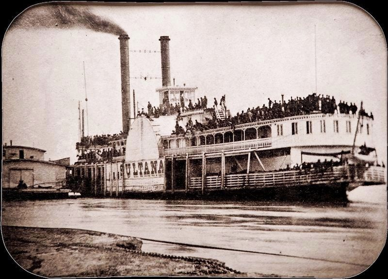 The Steamer <i>Sultana</i> image. Click for full size.