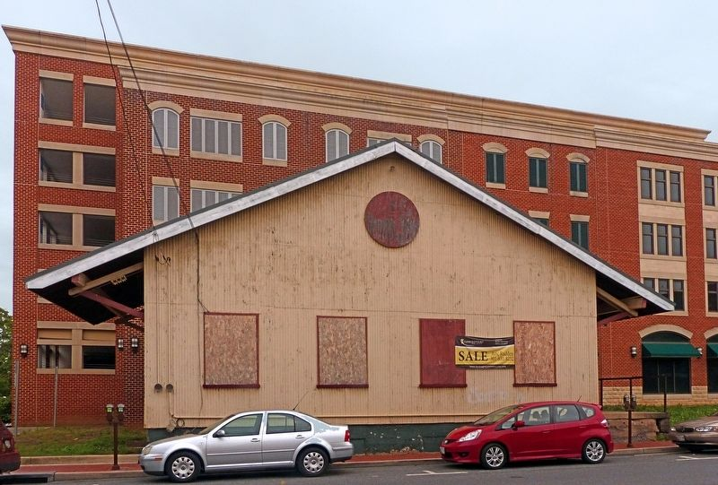 Remnant of the Old Freight Depot image. Click for full size.