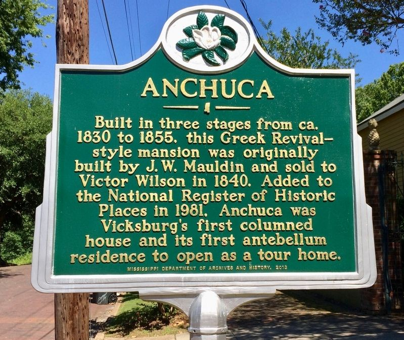 Anchuca Marker image. Click for full size.