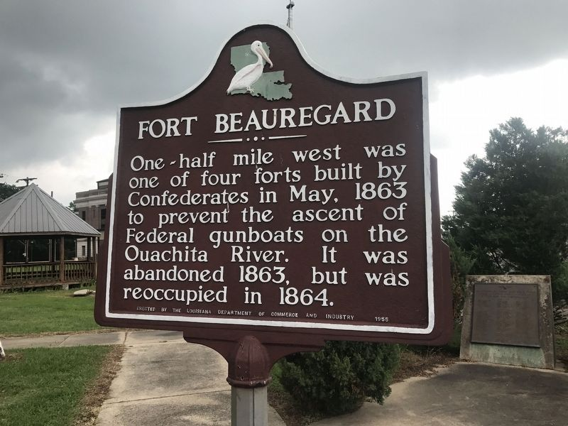 Fort Beauregard Marker image. Click for full size.