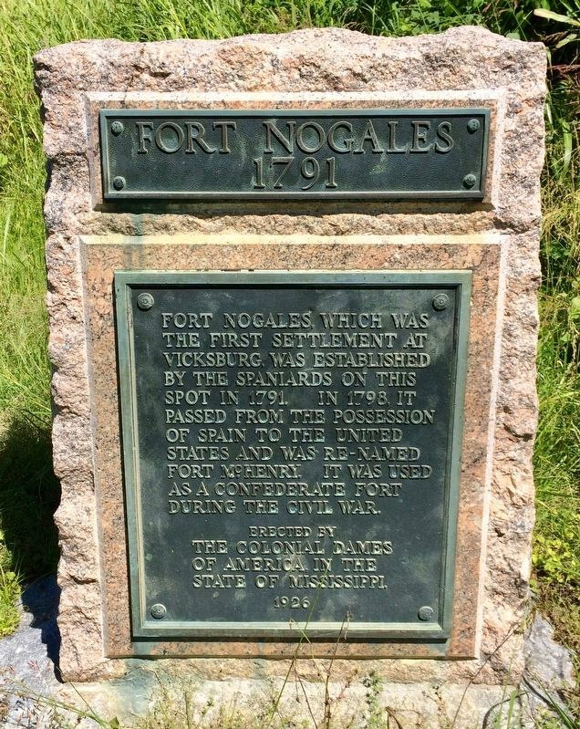 Another Fort Nogales marker. image. Click for full size.