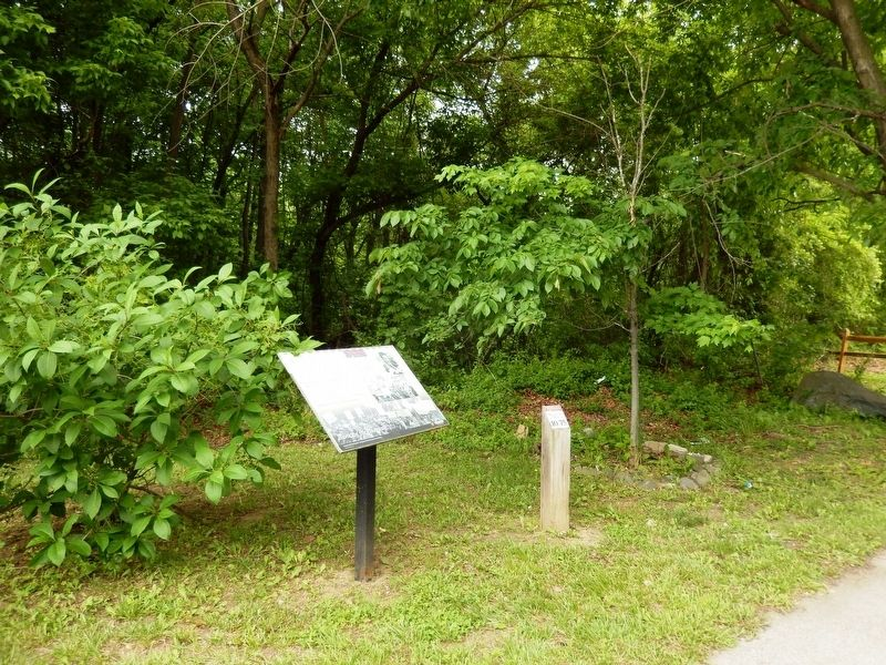 Gwynns Falls Trail Marker image. Click for full size.