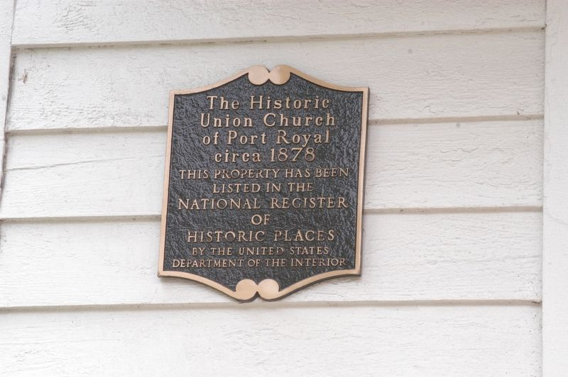The Historic Union Church Marker image. Click for full size.