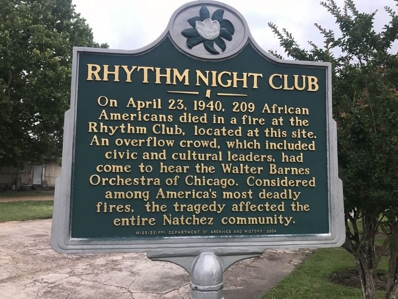 Rhythm Night Club Marker image. Click for full size.