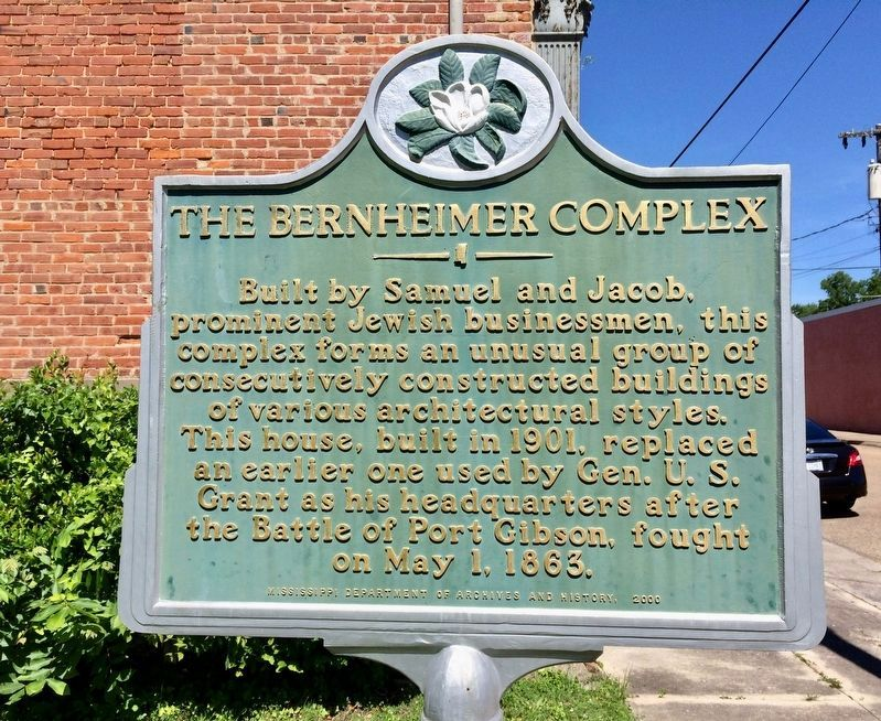 The Bernheimer Complex Marker image. Click for full size.