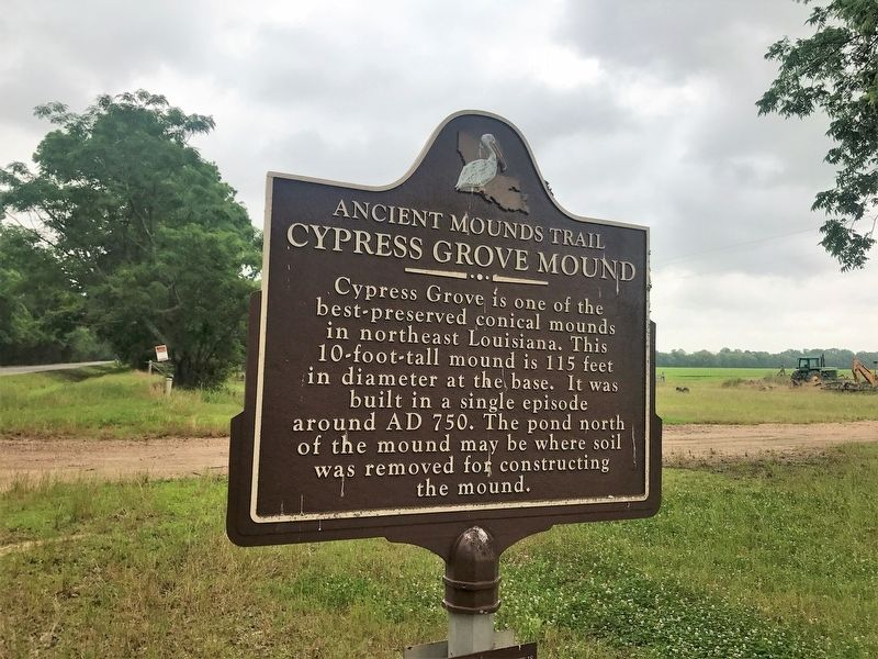 Cypress Grove Mound Marker image. Click for full size.