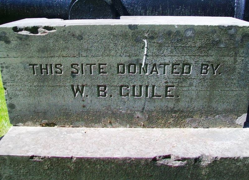 Civil War Memorial Donor image. Click for full size.