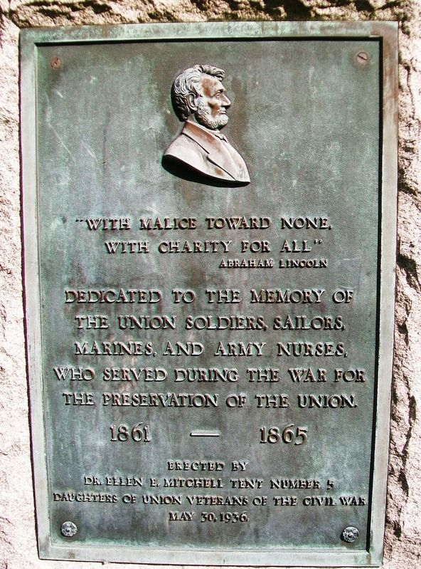 Civil War Memorial Marker image. Click for full size.