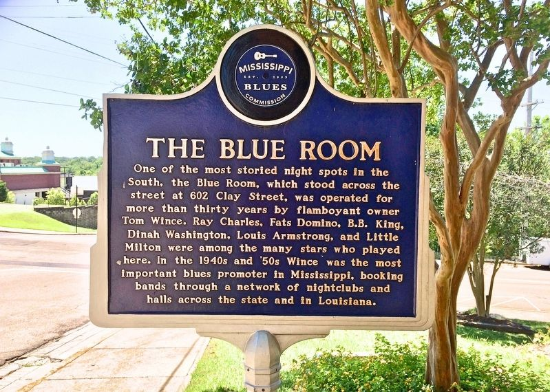 The Blue Room Marker (front) image. Click for full size.