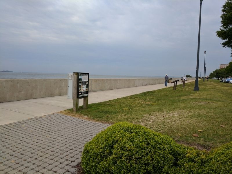 Fort Monroe History Marker image. Click for full size.